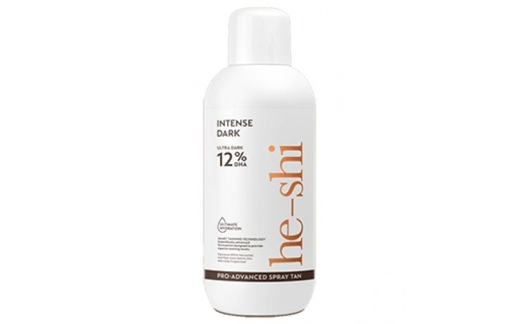 He - Shi Pro Advanced Spray Tan Solution 1 litre:  Intense Dark 12%