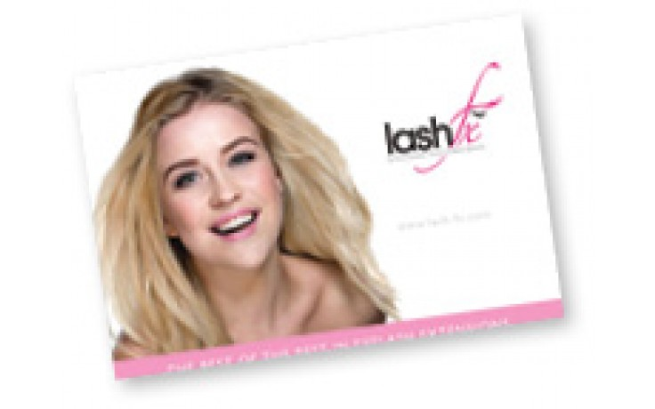 Lash Fx Promotional Kit:  Contains 2 A3 posters, 50 Salon Leaflets, 25 After Care Cards and 50 Record Cards