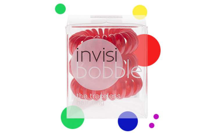 Invisibobble  Hair Ring With A Difference Red