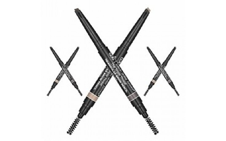Billion Dollar Brows - The Triple Threat Triangular Brow Pencil Taupe
