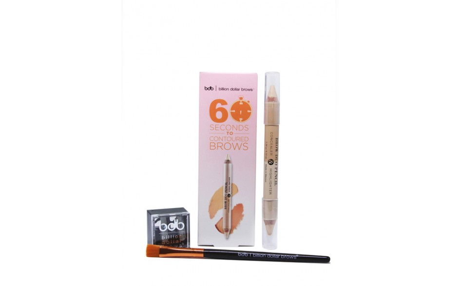 Billion Dollar Brows - 60 Seconds To Contoured Brows
