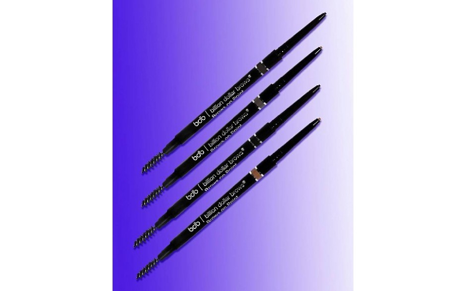 Billion Dollar Brows - Brows On Point - Waterproof Micro Brow Pencil - Raven