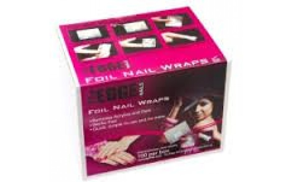 The Edge Foil Nail Wraps (100)