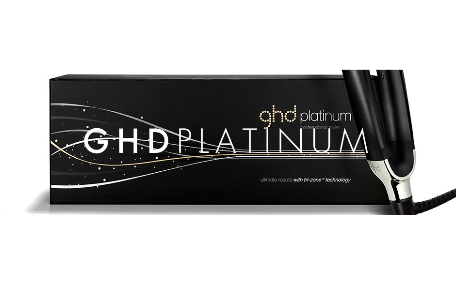 GHD Straightener - Black Platinum - Latest Model