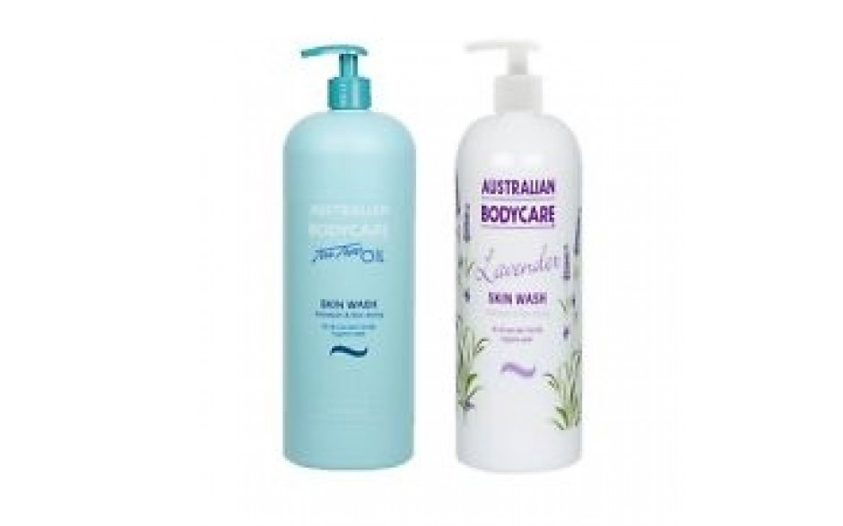 Australian Bodycare Lavender Skin Wash  500ml  + Original Skin Wash 500ml