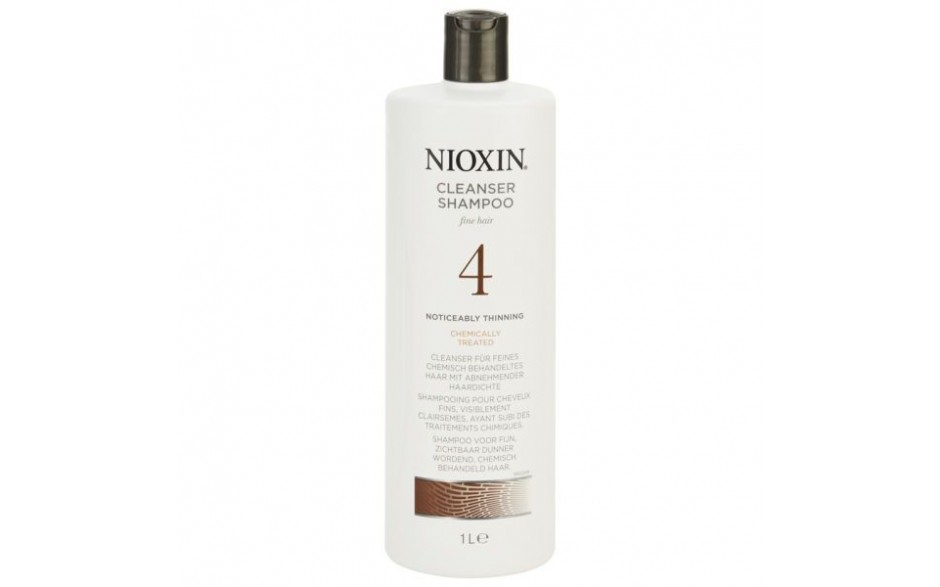 Nioxin Cleanser  1 litre System 4