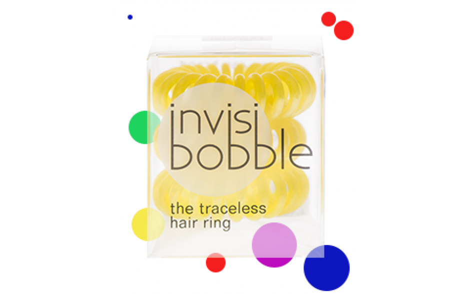 Invisibobble  Hair Ring With A Difference Yellow